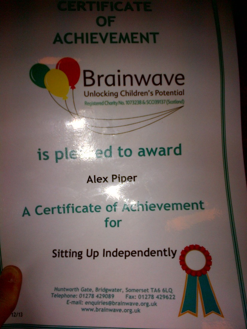 We went to Brainwave this week